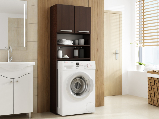 Waschmaschinenschrank Edel : Waschmaschinenschrank badschrank hochschrank badregal Überbau