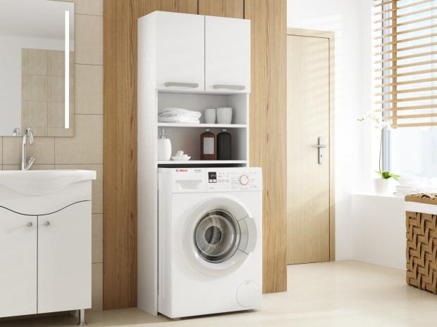 Waschmaschinenschrank badschrank hochschrank badregal Überbau