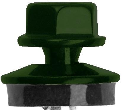 trapezblech schrauben moosgr n ral 6005 fassadenschrauben 4 8 x 35 mm 50 st ck ebay. Black Bedroom Furniture Sets. Home Design Ideas
