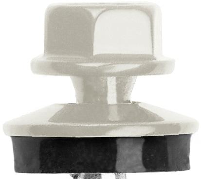 trapezblech schrauben wei grau ral 9002 fassadenschrauben 4 8 x 35 mm 250 st ck ebay. Black Bedroom Furniture Sets. Home Design Ideas