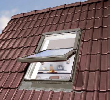 neu kunststoff dachfenster skyfenster 3 fach verglast eindeckrahmen rollo ebay. Black Bedroom Furniture Sets. Home Design Ideas
