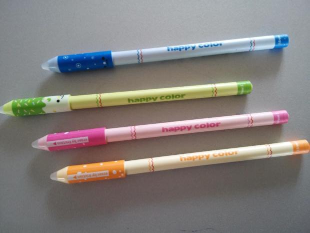 Długopis wymazywalny ścieralny Happy Color