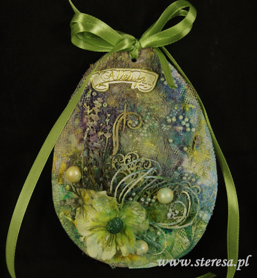 zawieszka ręcznie robione jajo