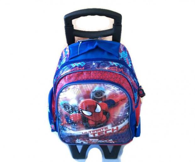 Plecak szkolny tornister 2 komory Spiderman