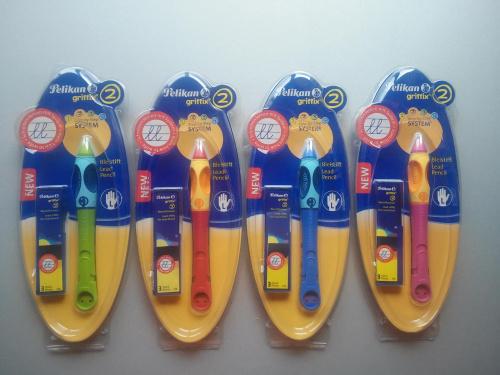 Ołówek  Griffix Pelikan  4 kol dla leworęcznych