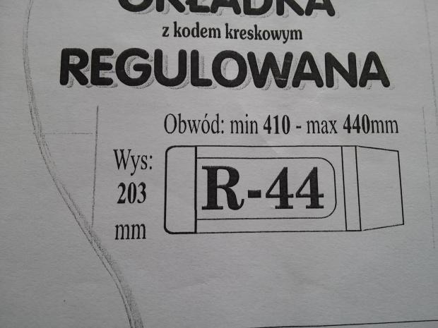 Okładka regulowana okładki na książki wys 20,3 R44