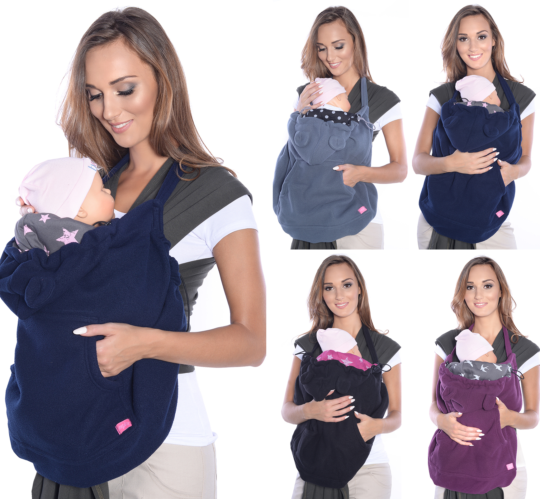 Neu Babytragetuch BAUCHTRAGE Babytrage Bauhtrage Tragetuch BABY Carrier